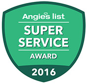 Buttler Floor & Carpet Co. is proud to have received the 2016 Angie's List Super Service Award