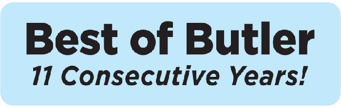 Voted Best of Butler for 11 consecutive years