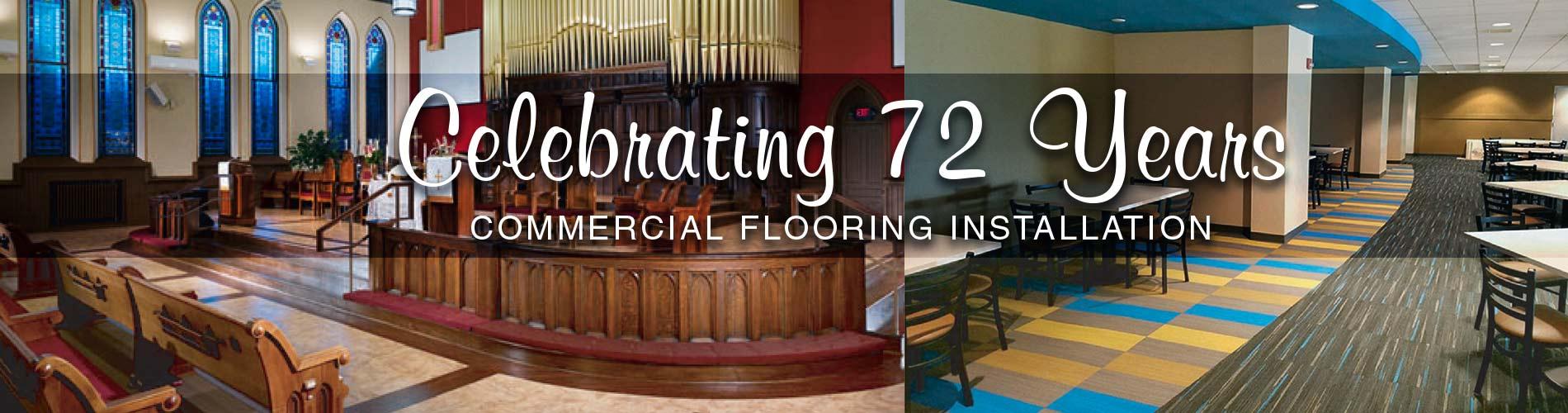 Butler Floor celebrates 72 years!