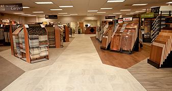Showroom Gallery by Butler Floor & Carpet