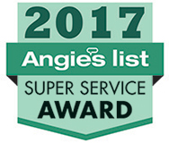 Buttler Floor & Carpet Co. is proud to have received the 2017 Angie's List Super Service Award